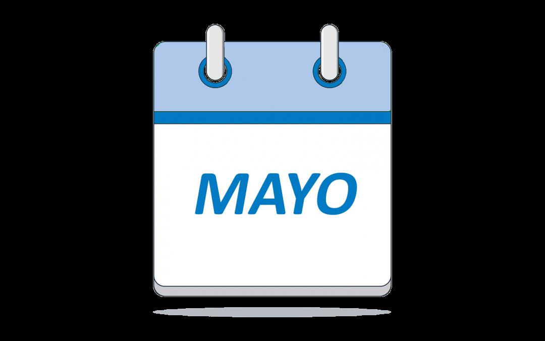 Novedades de mayo