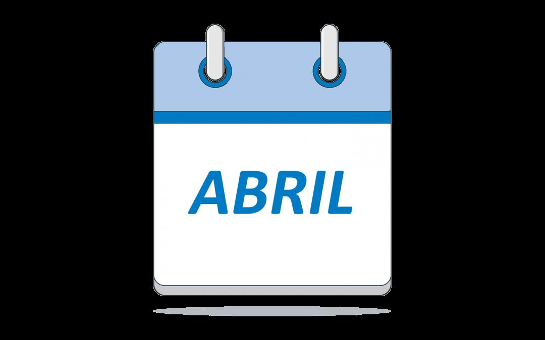 Nuestro lema del mes de abril